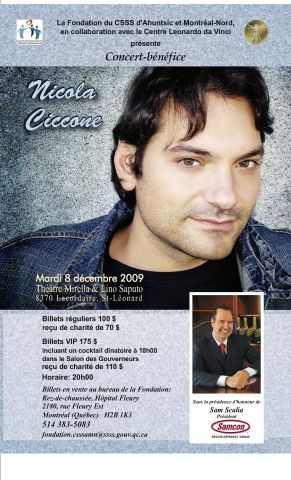 Poster Ciccone 85 x 14